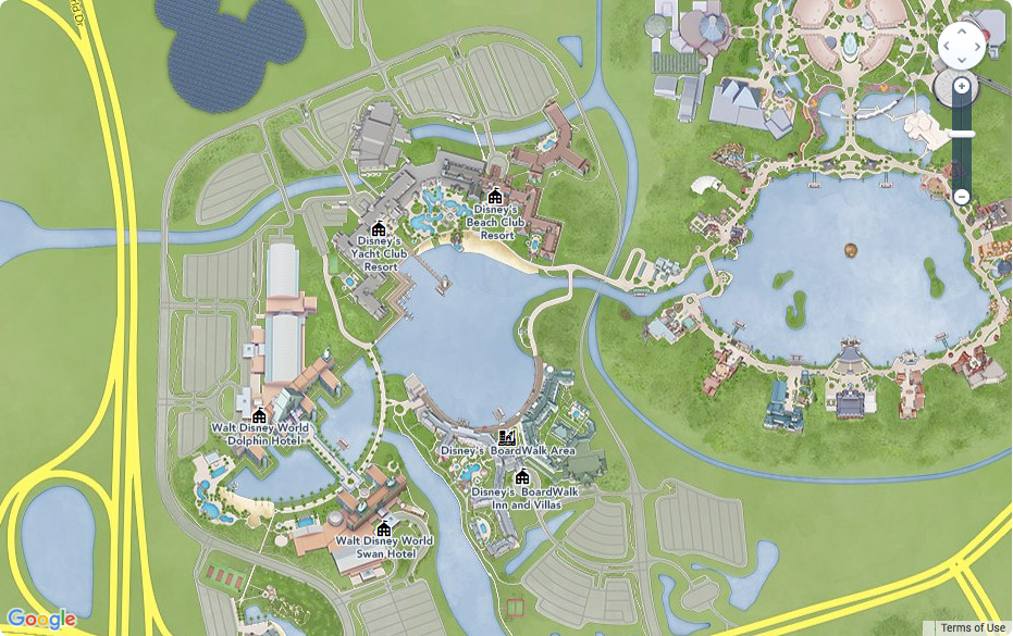 What are Epcot Resorts