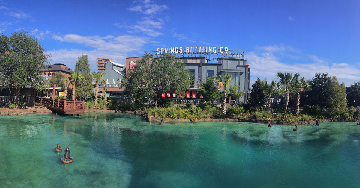 Are Disney Springs and Downtown Disney the same thing