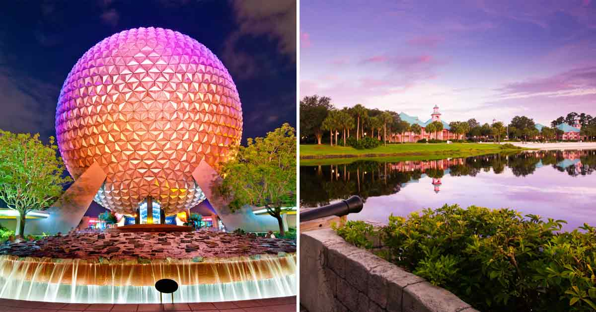 Can you walk from Caribbean Beach to Epcot